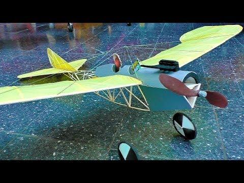 STUNNING RC LIGHTWEIGHT ETRICH TAUBE 37 GRAM INDOOR FLIGHT DEMONSTRATION