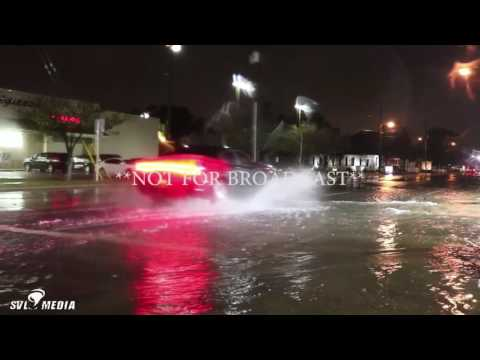 Brandon Oboikavitz - Pensacola, Florida - Severe Road Flooding - January 2nd, 2017