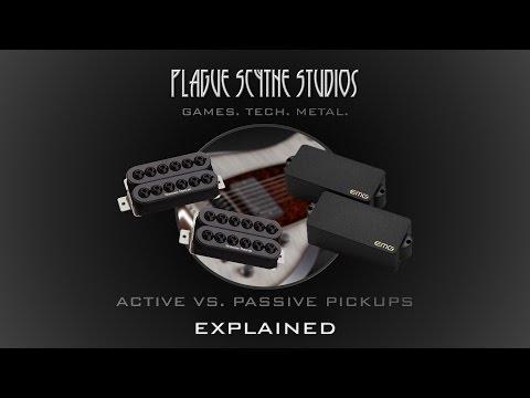 Active VS. Passive Pickups - Explained