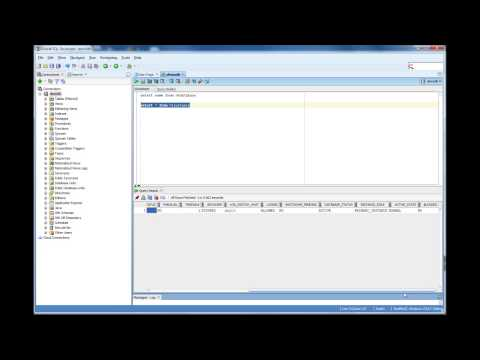 How to verify the Oracle Database Name - Database Tutorial 51 - Oracle DBA Tutorial