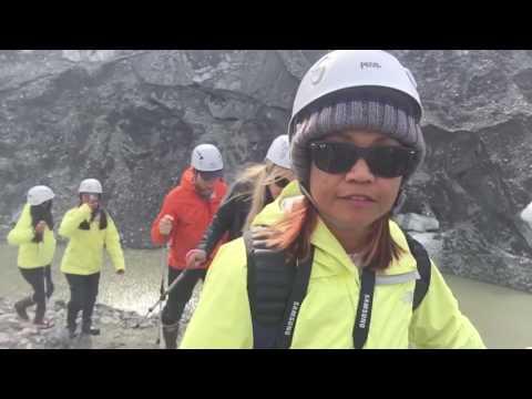 (Alaska) Mendenhall Glacier Paddle, Hike and Into the Cave (Neren in Juneau, Alaska - 03.08.16)