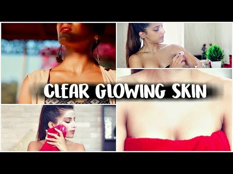 SUMMER Skin Care GLOW- Face & Body Skin Care Routine For Soft, Smooth, Clear, Glowing Skin