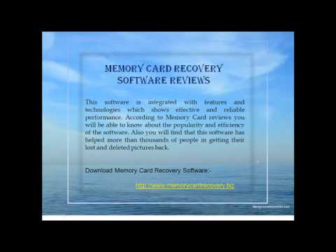 Memory Card Recovery Software Review