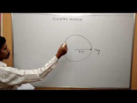 Circular Motion Numerical 2 Maharashtra Board Physics class 12