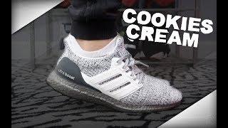 buy popular 703ad dcf98 ultraboost cookies on feet Videos - 9tube.tv