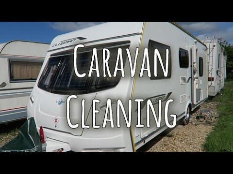 Caravan cleaning