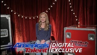 Singer Evie Clair Chats About Singing for Simon Cowell - America