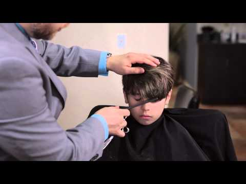 How to Cut Shaggy Bangs for Men : Hair & Grooming Tips