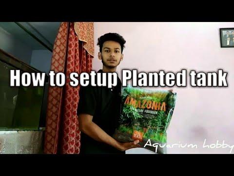 How to setup planted tank (Part-1) (Hindi)