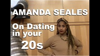 Download Amanda Seales talks ″Dating Advice in your 20s″ (HOFSTRA U 2017) Video