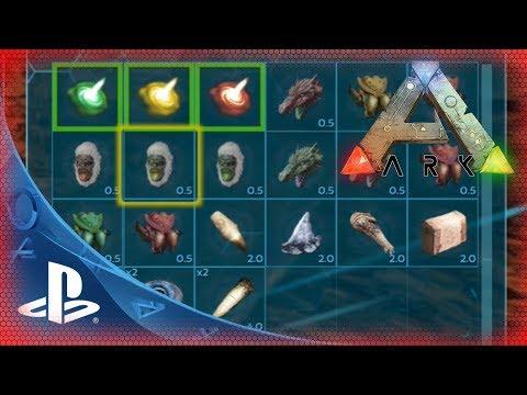 ARK PS4 🇩🇪 Items / Gegenstände für Tek Höhle Alpha Beta Gamma - ARK PS4 Cheat ARK Commands gfi