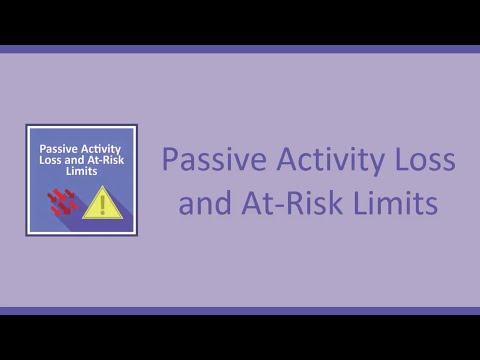 Passive Activity Loss & At-Risk Limits