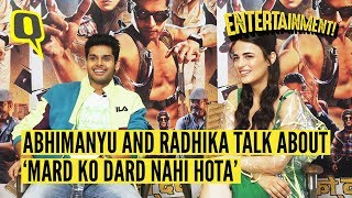 Abhimanyu Dassani and Radhika Madan Talk About 'Mard Ko Dard Nahi Hota' | The Quint