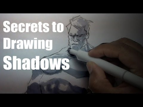 Secret to Drawing Shadows on Your Character