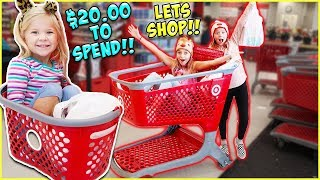 $20 Target Haul Challenge?! Will They Go Over Budget?!