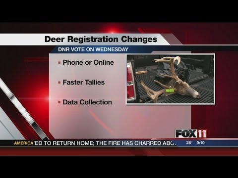 Wisconsin DNR board looking at eliminating in-person deer registration