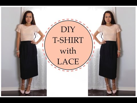 EASY DIY T-SHIRT, Sewing Project for Beginners