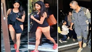 Jhanvi Kapoor To Akshay Kumar Celebs Spotted At Different Places