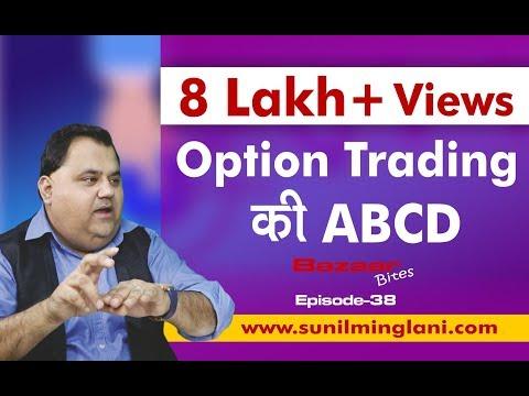 Option Trading Ki ABCD (In Hindi) || Bazaar Bites Episode-35 || Sunil Minglani