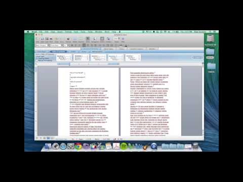 BookBaby Book Printing: How To Format Your Book in Word for Mac