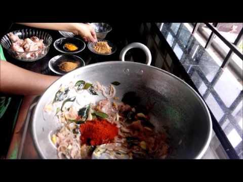 Chicken curry recipe in Malayalam, മലബാർ ചിക്കൻ കറി (Kerala - malabar style)
