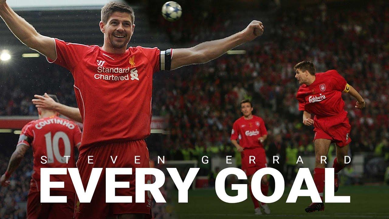 Every Steven Gerrard Goal | Cup Final screamers, Istanbul