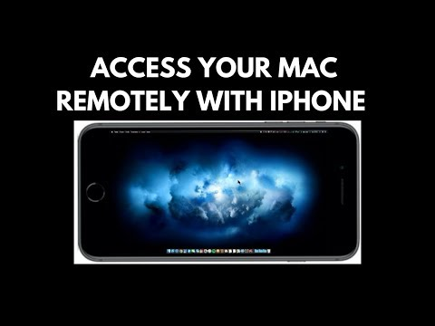 Control your Mac Remotely From iPhone and iPad