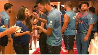 Harbhajan Singh's Wife Geeta Basra Celebrates Birthday With India Cricket Team