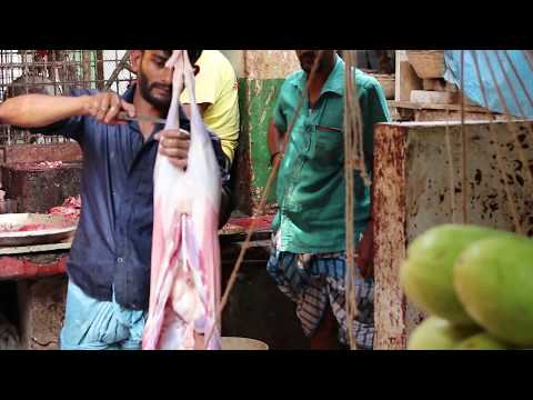 How to Cut & Process a Full Goat In Dhaka City Bangladesh