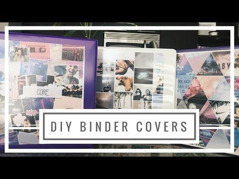 DIY TUMBLR BINDER COVERS ♡ | ANIKA GRACE