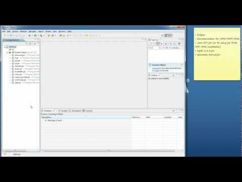 How to compile and run java UM sample applications with eclipse