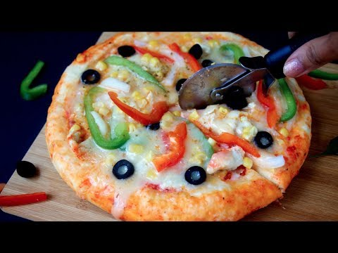 চুলায় এবং ওভেনে তৈরি পিঁজা    Bangladeshi Pizza Recipe    Pizza Recipe On stove And oven