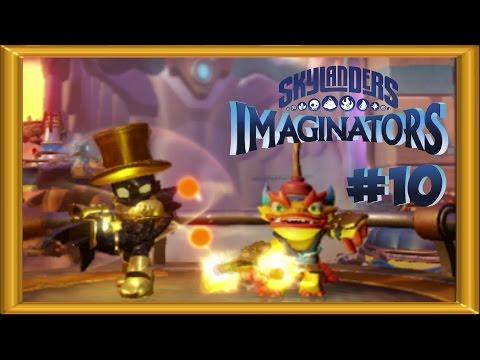 Skylanders Imaginators Walkthrough 100% -  Expert Mode |  ALL COLLECTIBLES  | 2 Player - Part 10