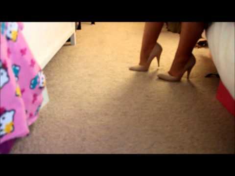 How to Walk in Heels Part 1 (Beginner)