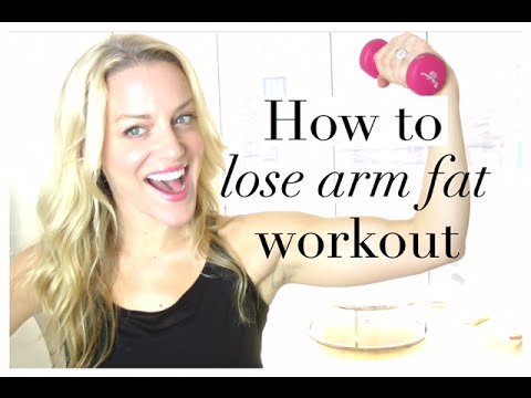 HOW TO LOSE ARM FAT workout!