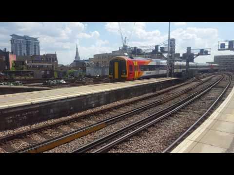 Trains at London Waterloo SWML 23/7/16