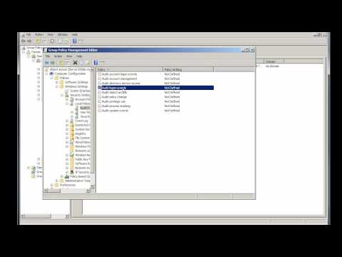 Windows Server 2008: audit object access part a