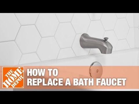 How To Replace a Bathtub Spout - The Home Depot