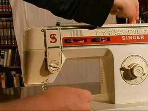 Winding a Singer Sewing Machine Bobbin
