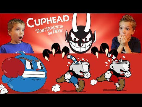 The Devil is Bendy! CUPHEAD & MUGMAN Part 1 Twin Toys