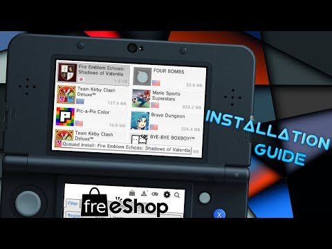 [3DS] How To Set Up & Use freeShop