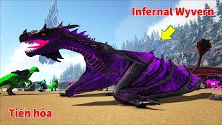 """ARK: Ragnarok Mod #23 - Mình Tiến Hóa Rồng """"Prime Wyvern"""" Lên """"Infernal Wyvern"""" Siêu Mạnh Luôn Nhá"""