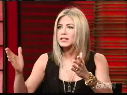 Jennifer Aniston on Live with Regis and Kelly