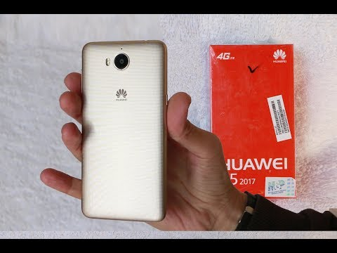 Huawei Y5 2017 Unboxing & Review
