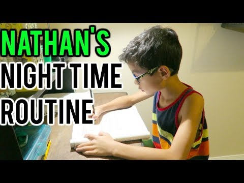 NIGHT TIME ROUTINE | Kids edition 2017