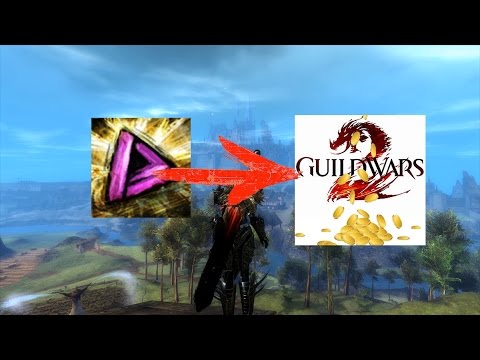 Get up to 45 gold in Guild Wars 2 with 15 mins of work! Karma to gold convertion!