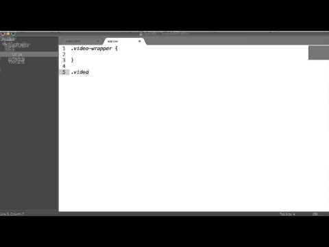 Responsive Embedded Videos (YouTube, Vimeo, etc.)