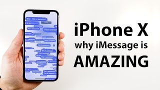 THIS is why iMessage on iPhone X is awesome.