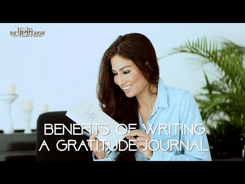 Benefits of Writing a Gratitude Journal | How To Change Your Attitude