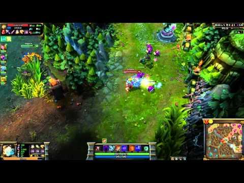League of Legends: Ranked #61 1244 ELO Tristana